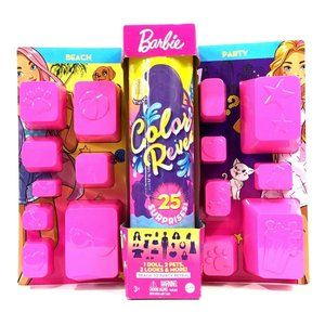 Barbie Color Reveal Doll Beach To Party Reveal